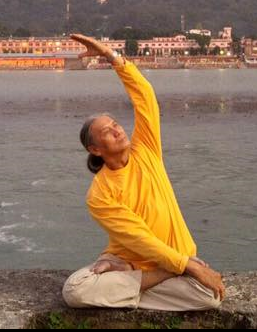 yoga teacher Anthony Arjun Loy