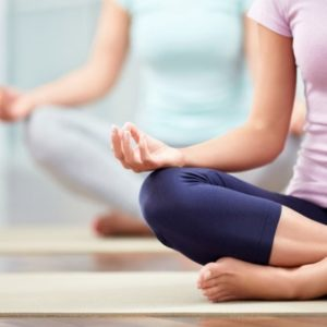 yoga beginner class