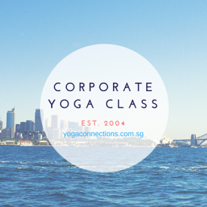 corporate yoga class 2
