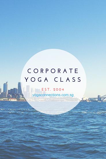 corporate yoga class 2